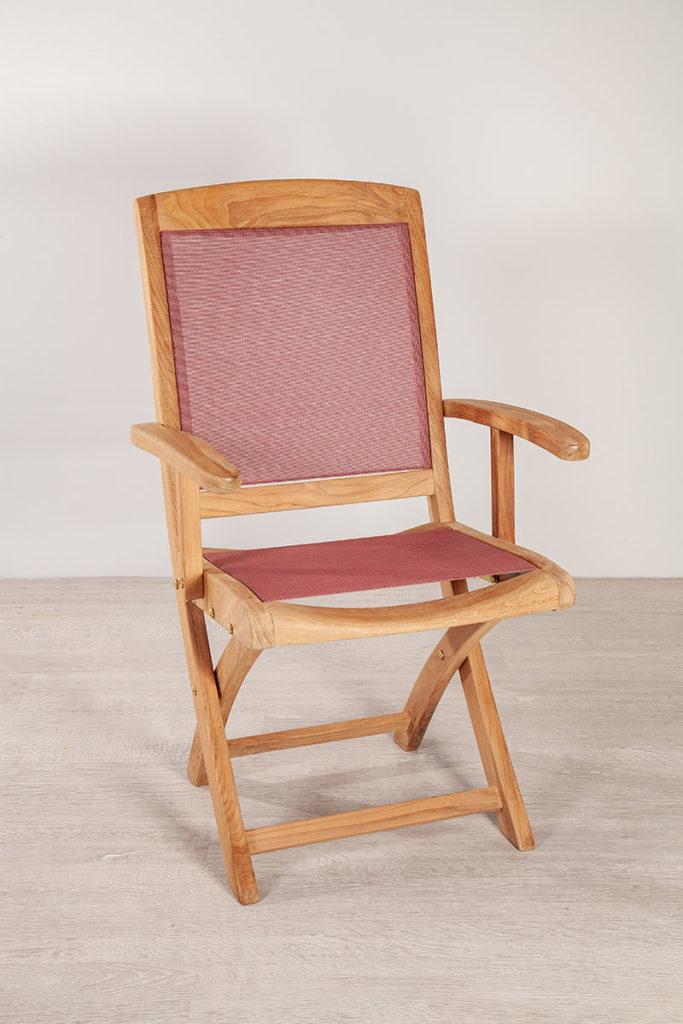 Sessel, hochwertige Gartenmöbel aus Massiv-Holz