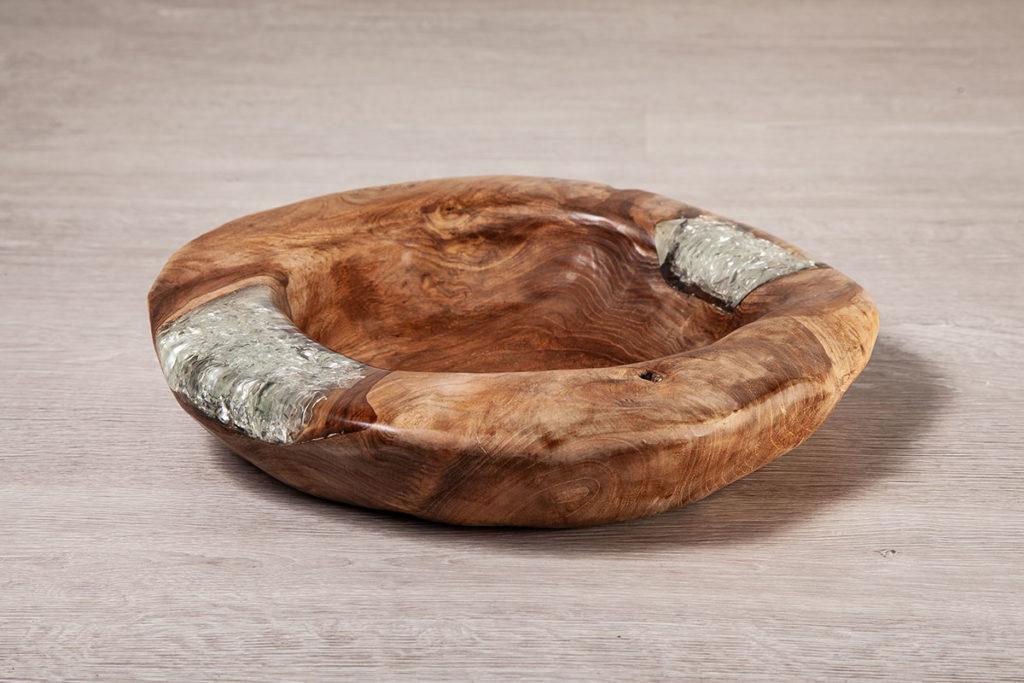 Designer-Schüssel aus Teakholz - Teak-Möbel, Designermöbel