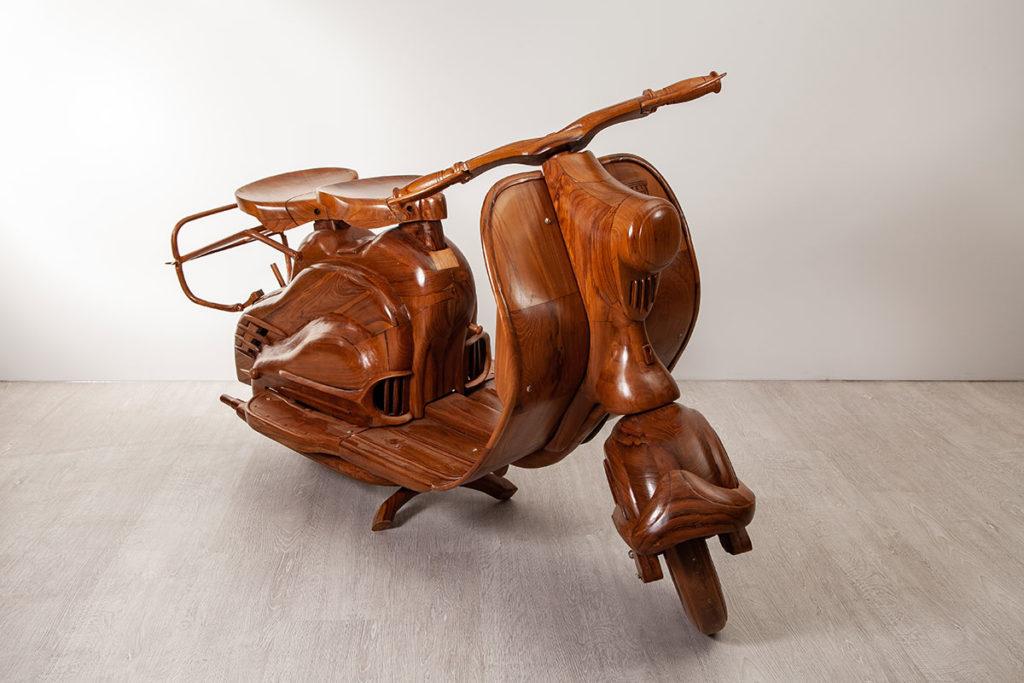 Vespa - Teak-Möbel, Designermöble