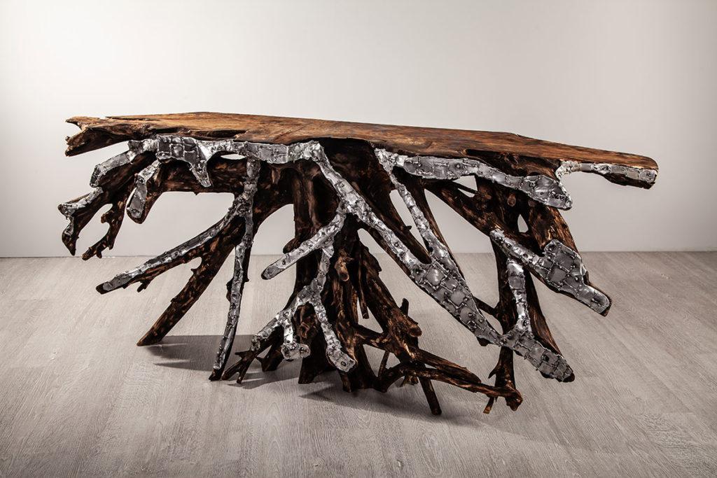 Tisch - Designermöbel, Wurzelholzmöbel