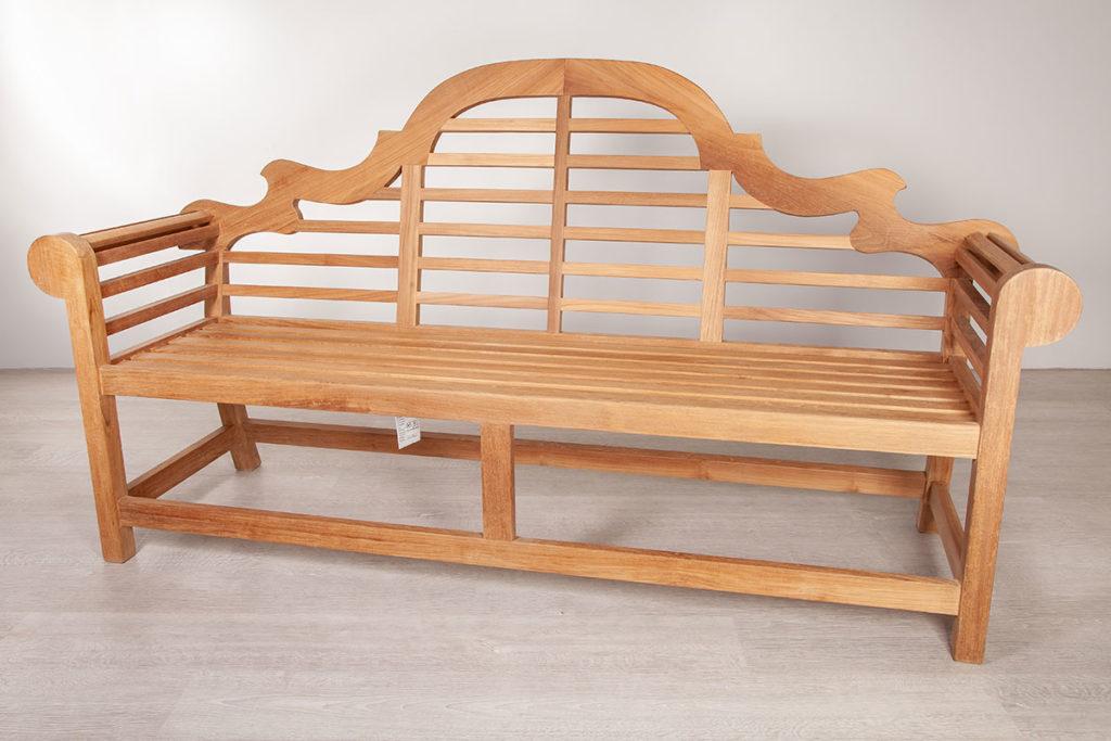 Sitzbank, hochwertige Gartenmöbel