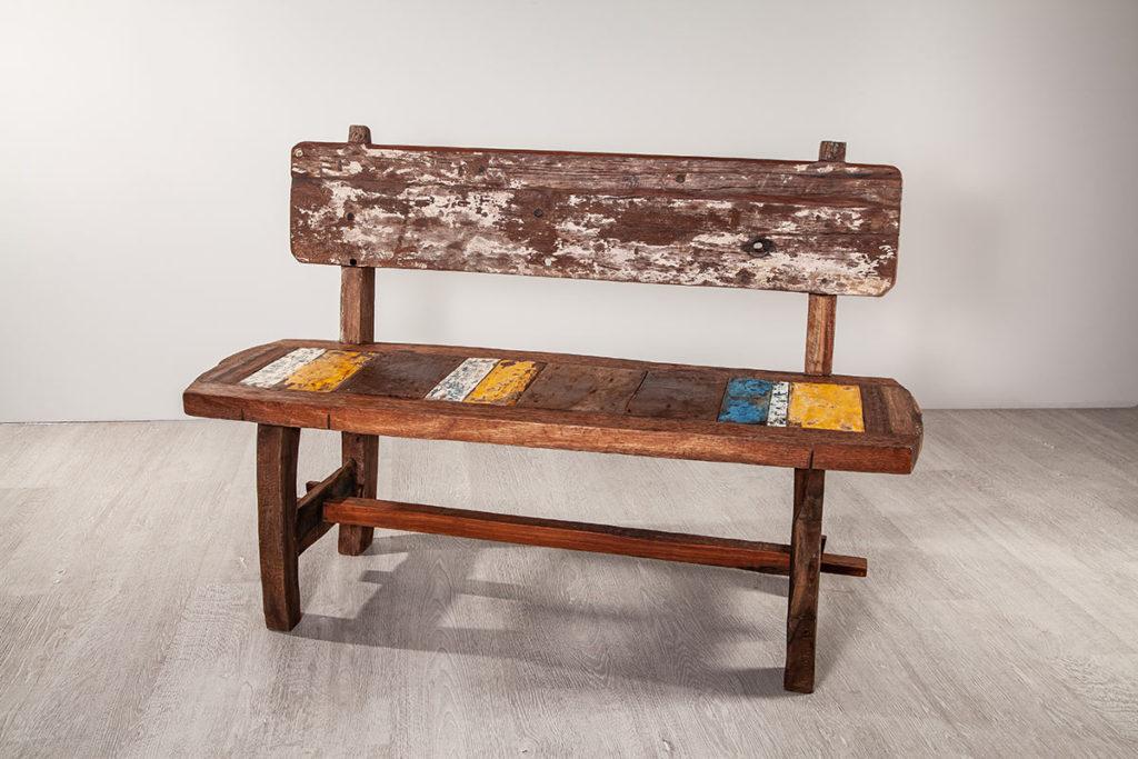 Sitzbank, hochwertige Gartenmöbel aus Massiv-Holz
