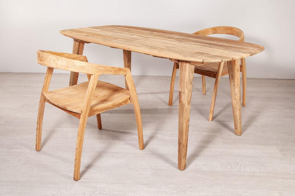 Tischset, hochwertige Gartenmöbel