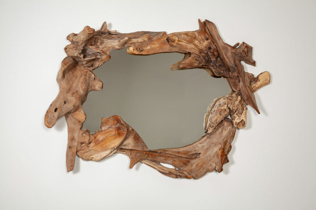 Naturholz Spiegel Elementry